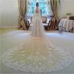 3M dlouhozrnní rouška s nevěstou 1,5 m široký závojem svatební závoj