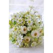 Zelené a bílé čaje květiny ruční kytici korejské nevěsty ženatý simulace