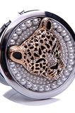 Circle Inlaid diamant Narozeniny svatební kovové skládací ozdoba
