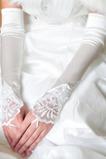 Svatební rukavice Elegantní Taffeta Beach Apply Winter