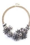 Alloy krátké módní květiny velkoobchod náhrdelník ozdoba