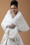 Svatební šátek Formální zimní bez rukávů