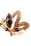 Křišťálově jasná brož vysoká kvalita zdokonalení Velkoobchod vykládané diamantové brož