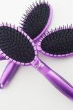 Purpurové plastové masáže zdravotní péče oválné malé ozdoby