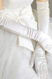 Zimní svatební rukavice Formální zimní pokoj Taffeta