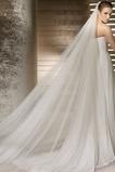 Nevěsta svatební šaty závoj měkké příze 3 metry dlouhé a dvě vrstvy měkký závoj