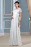 Říše Délka patra S diakritikou luk Krátký rukáv Svatební šaty
