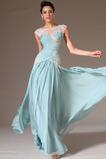 Střední Délka podlahy Bez rukávů Přikrýt Elegantní Společenské šaty