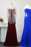 Bezzadu Srdíčko Romantický Představení Plášť Společenské šaty