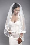 Chic Lace Fall Svatební závoj Lace Cover Lace Fabric