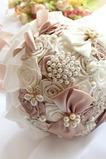 Téma svatební nevěsta kytice kreativní stuha ruční kytice