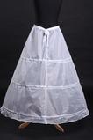 Svatební petticoat Polyester taffeta Jednoduché Tři ráfky Plné šaty