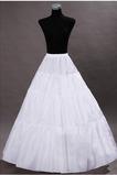 Svatební svatební šaty svatební šaty Perimeter Frameless Standard Elastický pas