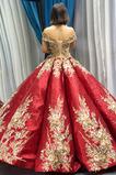 Rosný rameno Přírodní pas Formální Krátký rukáv Promové šaty