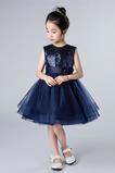 Jaro houpačka Drahokam Zip nahoru Elegantní Květinové dívky šaty