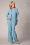 Drobounký Oblek Elegantní Vysoká zahrnuty Přirozeného pasu Matka šaty obleky