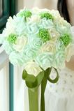 Nevěsta ruční kytice svatební studio rekvizity kytice