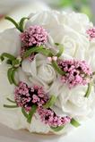 Simulace květin kytice nevěsta družička svatební ruční kytice