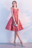 Léto A-Čára Střední Přírodní pas Okouzlující Koktejlové šaty
