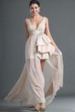 Střední záda Neformální Stehna vysoká štěrbina Asymetrický Promové šaty
