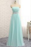 Přirozeného pasu Elegantní Lištování hostina Korálkový pás Večerní šaty