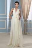 Říše Šifón Mateřství Zip nahoru Jaro Elegantní Svatební šaty