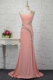 Dlouhý S hlubokým výstřihem Elegantní Těsné Společenské šaty