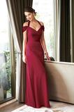 Zip Okouzlující Těsný Skládaný živůtek Rosný rameno Společenské šaty