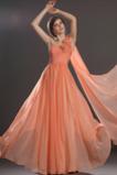 Vícevrstvý Bez rukávů Délka podlahy Elegantní Střední záda Večerní šaty