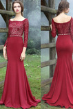 Dlouhý Formální Krajkou Overlay Plášť Náměstí Střední Večerní šaty