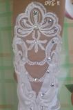 Svatební rukavice Požadovaná krajka Fabric Translucent Autumn