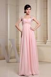 Plisovaný Vysoký pasu Elegantní Střední záda Šifón Večerní šaty
