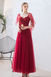 Miláček Elegantní Zašněrovat boty Přirozeného pasu Společenské šaty