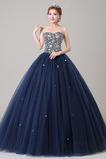 Délka podlahy A-Čára Rouška drahokamy živůtek S hlubokým výstřihem Promové šaty