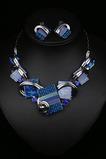 Ženy Flowers Crystal Hot výprodej Stříbrný náhrdelník