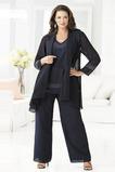 V-krk Přirozeného pasu Klasický Dojíždět Plus Velikost Matka šaty obleky