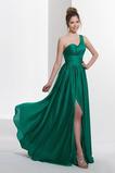 Jednoduchý A-Čára Střední Zamést vlak Skládaný živůtek Promové šaty