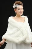 Svatební šátek Elegantní zimní bez rukávů