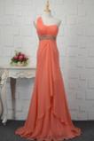 Hvězdné Jaro Elegantní Zip nahoru Vysoký pas Korálkový pás Večerní šaty