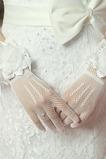 Svatební rukavice Květiny Podzim Černá multifunkční Elegantní