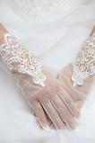 Svatební rukavice Tkanina krajka malebná krajka dekorace
