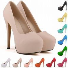 14cm vysoký podpatek módní styl nepromokavé svatební boty