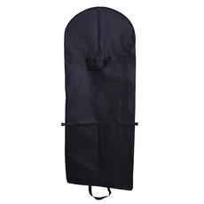 Černá netkaná textilie a oblékat velké prachové víčko prachového krytu skládací svatební šaty