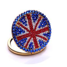 Přenosné velkoobchodní vlajka Národní vlajka Dvoustranná vykládaná diamantová ozdoba
