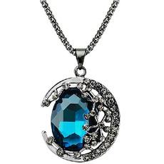 Náhrdelník Ženy Nový produkt Křišťálové slitiny šperky Retro náhrdelník
