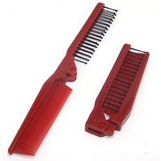 Dřevěné zrno červené skládací multifunkční přenosné ozdoby