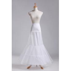 Svatební petticoat Dvojitá příze Dva ráfky Silný čistý obvodový korzet