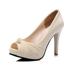 Sexy vysoké podpatky platforma sandály módní ryby ústa boty banketové boty