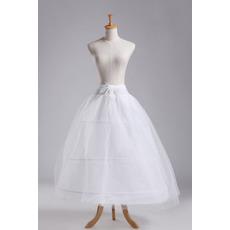 Svatební šňůra Tři ráfky Silná síť Plná šaty Dva svazky