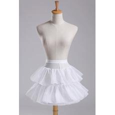Svatební šňůra Módní Průměr Elastický pas Krátké šaty